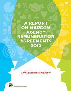 A Report On MarCom Agency Remuneration Agreements