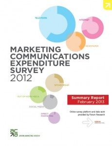 Marketing Communications Expenditure Survey cover