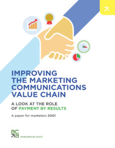 Improving The Marketing Communications Value Chain cover