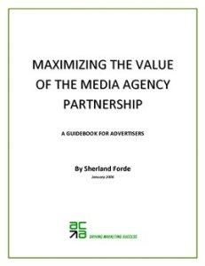 Maximizing The Value Of The Media Agency Partnership