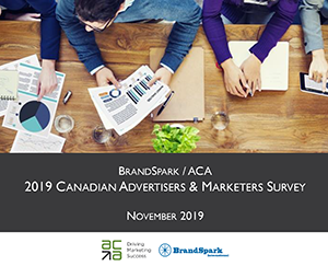 Brandspark / ACA 2019 Canadian Advertisers & Marketers Survey