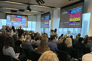 The full house at the Most Influential Brands event at the Globe and Mail Centre