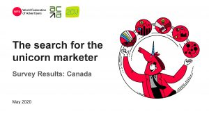 The Search for the Unicorn Marketer - Survey Results: Canada