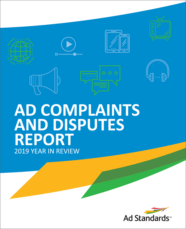 Ad Complaints and Disputes Report 2019 cover