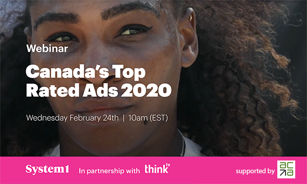 Thinktv presents : Canada's Top Rated Ads 2020