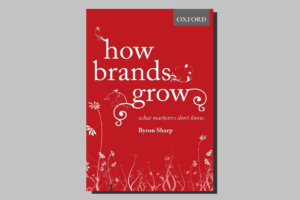 Book cover: How Brands Grow - What Marketers Don't Know