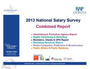Rapport du sondage national sur les salaires