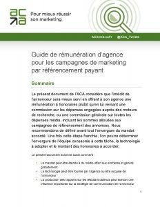 Guide de rémunération d'agence pour les campagnes de marketing par référencement payant