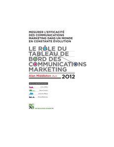 Le rôle du tableau de bord des communications marketing