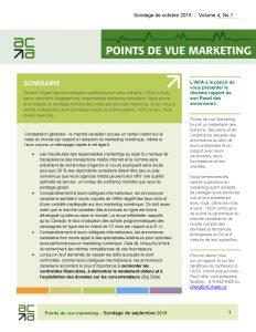 Points de vue marketing