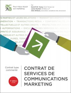 Contrat de services de communications marketing