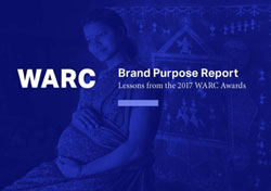 Couverture du WARC Brand Purpose Report