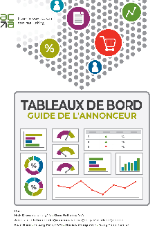 Tableaux de bord - Guide de l'annonceur - Couverture