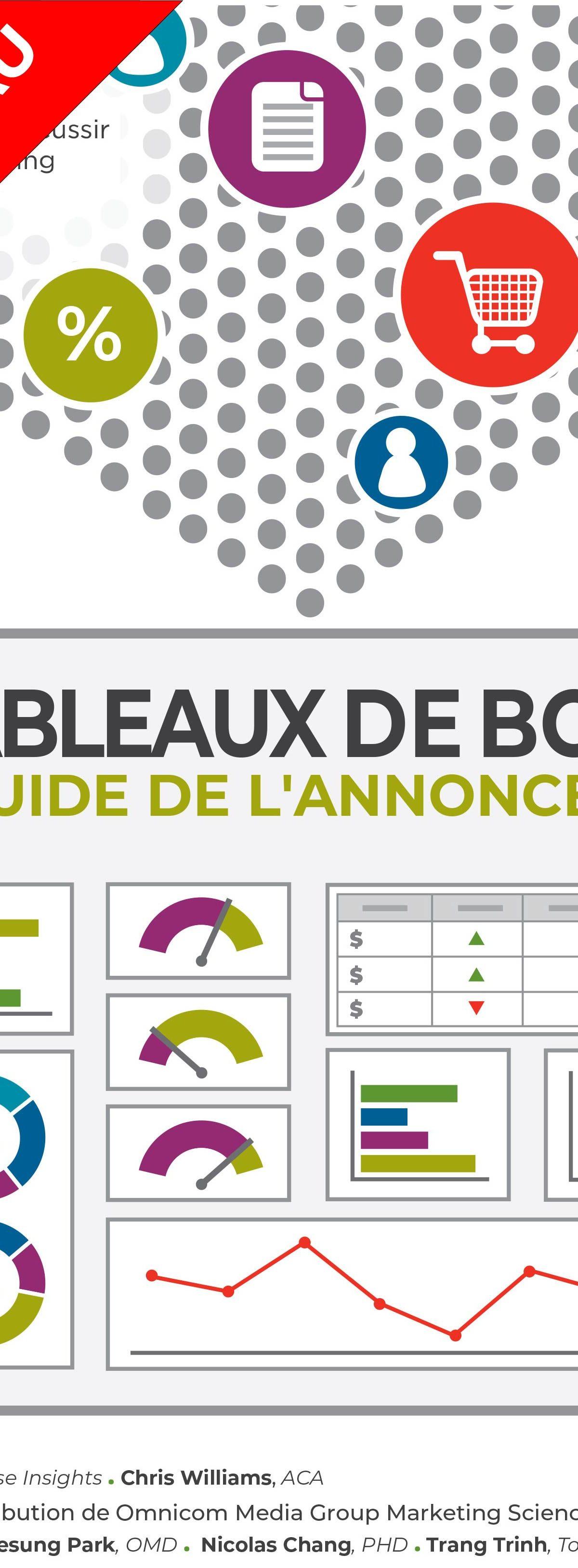 Tableaux de bord - Guide de l'annonceur (couverture)