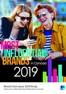 Les marques les plus influentes au Canada 2019