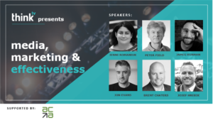 thinktv presents: media, marketing & effectiveness; supported by ACA
