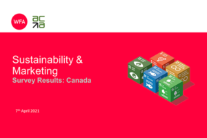 Sustainability & Marketing - Survey Results: Canada