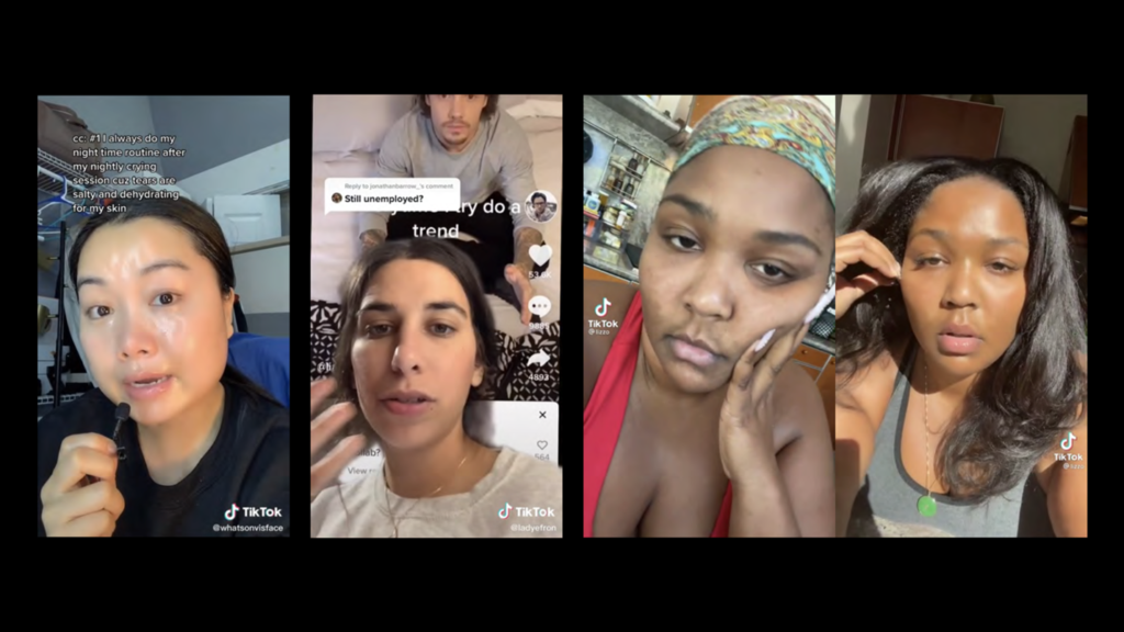 photo de trois influenceuses sur TikTok : Vi Lai, Brooke Averick, Lizzo.